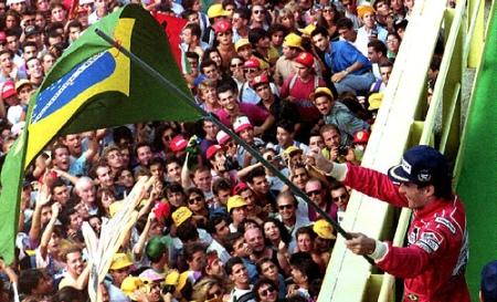 Senna em Monza, Itália, 1992