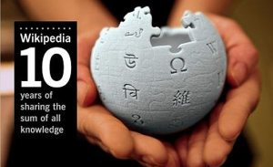 Wikipedia: 10 years of sharing the sum of all knowledge